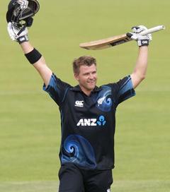 Corey Anderson scores fastest century in ODI cricket history