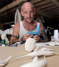 Cuttlebone Works on Display at Melbourne Flower and Garden Show