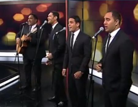 Modern Maori Quartet – War Medley