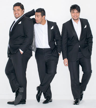 Operatic Trio Performs Exclusively Live for the Telegraph