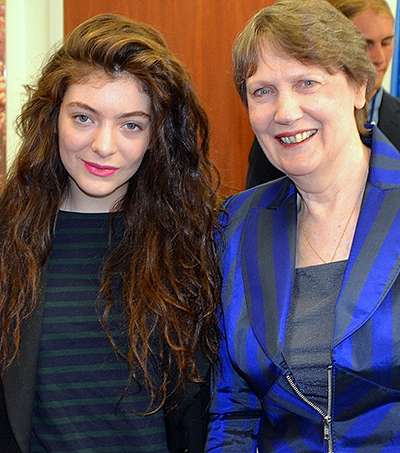 Lorde Visits Helen in New York