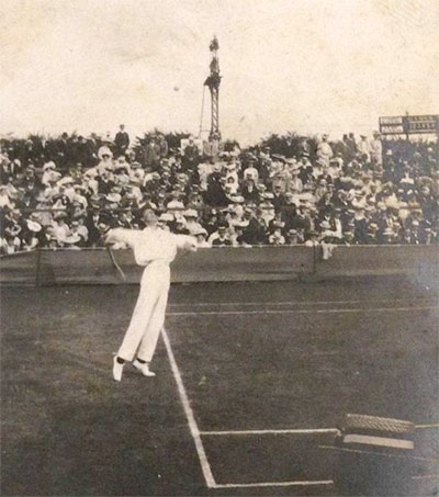 Century-Old Photographs of Tennis Star Auctioned