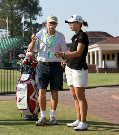 Lydia Ko Pairs with Famed Caddy at Pinehurst
