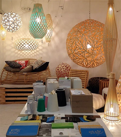 Moaroom a Shining Presence in Parisian Furniture Market