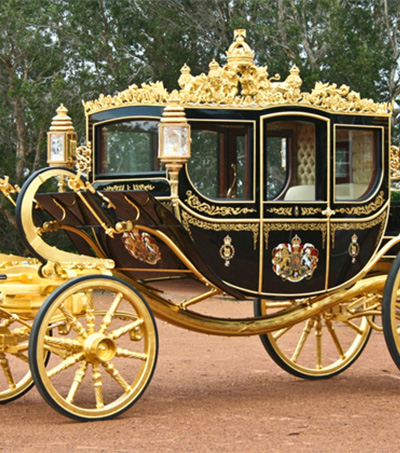 Kiwi Jeweller Gets His Handles on Queen's Diamond Jubilee Coach