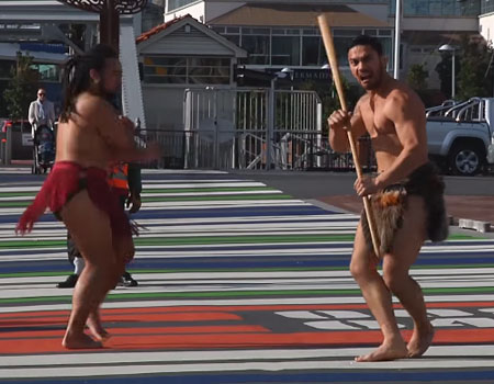 Fight Night Auckland: HAKA Welcome Ceremony