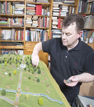 War-Gamer Robert Dunlop Recreates WWI Battle in Miniature