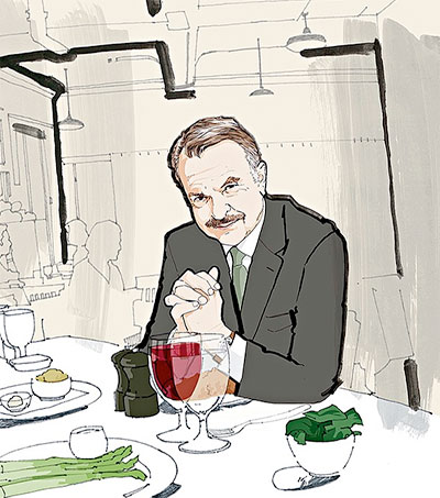 St. John Regular Sam Neill Bemoans the French Wine List