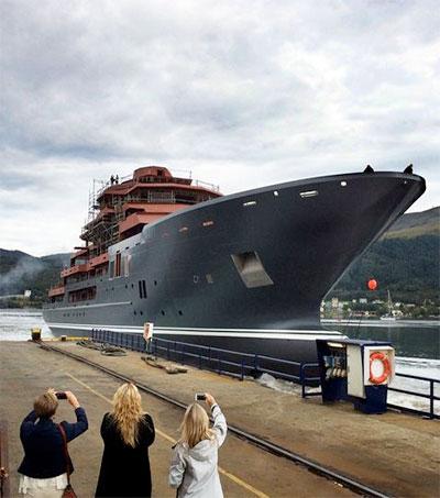 Graeme Hart's Luxurious Ulysses Sets Sail