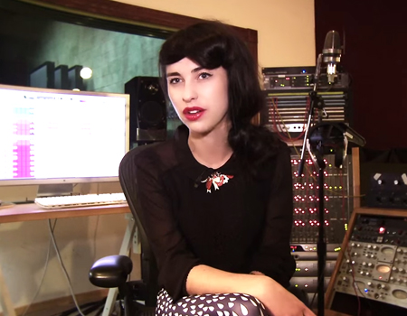 Kimbra – The Making of The Golden Echo Episode 1