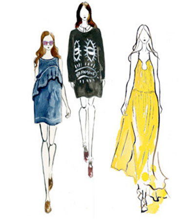 NY Inspiring Fashion Illustrator Natasha Wright