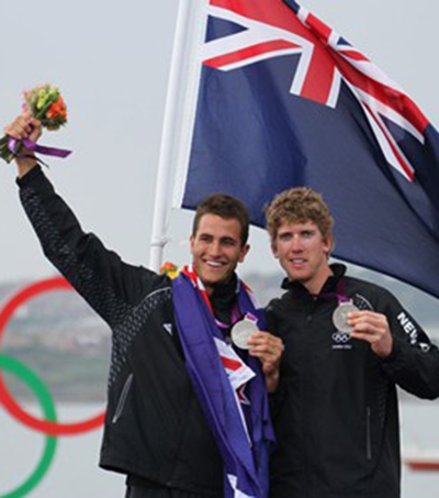 "Sailing World Championships ""Dominated"" by Kiwi Pair"