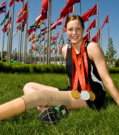Three Medals for Sophie