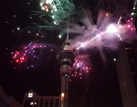 New Year 2014 in Auckland