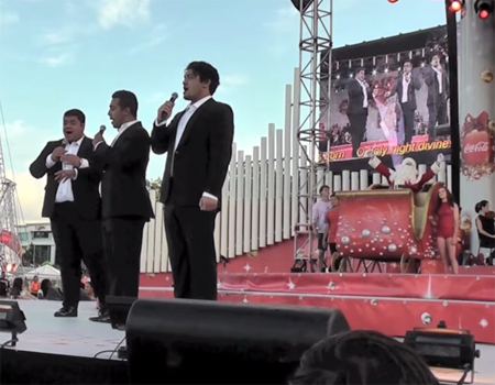 """O Holy Night"" SOL3 MIO Live at Christmas in the Park"