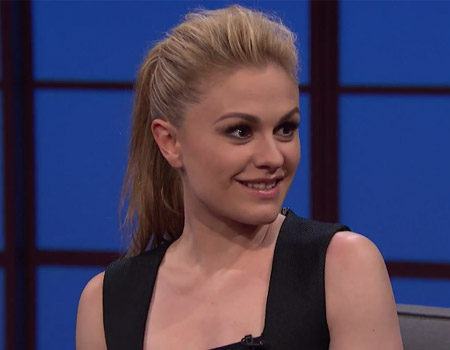 Anna Paquin on the End of True Blood – Late Night with Seth Meyers