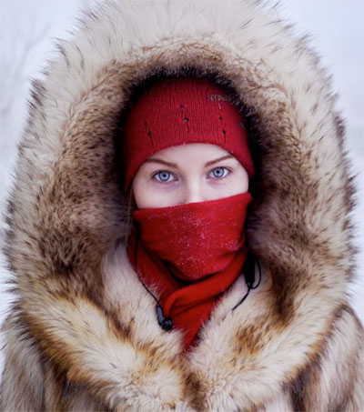 Amos Chapple Couldn't Resist Shooting in the Coldest Place on Earth