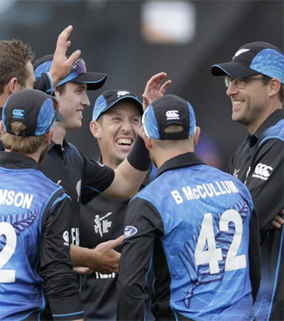 NZ Open Their Cricket World Cup in Style