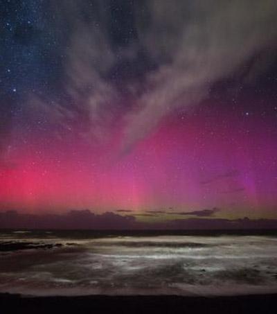 Aurora Australis Lights Up Southern Sky In Sensational Display