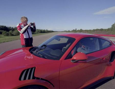 Porsche 911 GT3 RS – Brendon Hartley Test Drive