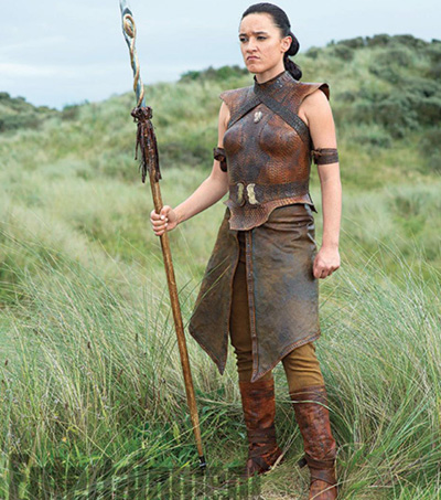 Keisha Castle-Hughes Makes Memorable Debut on Game of Thrones