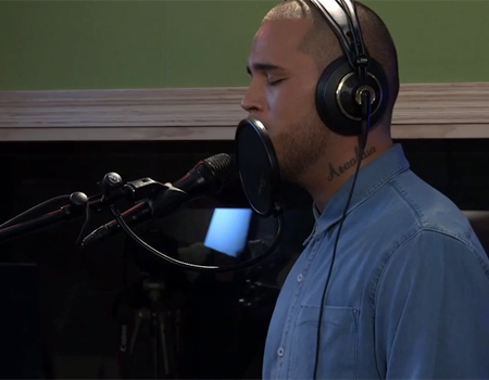 Stan Walker Live at Radio New Zealand