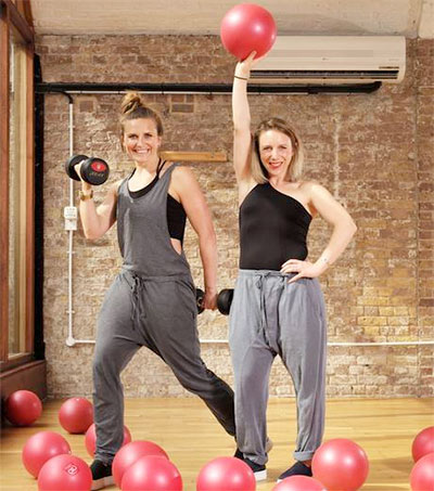 Joan Murphy of Frame Fitness collaborates with Whistles