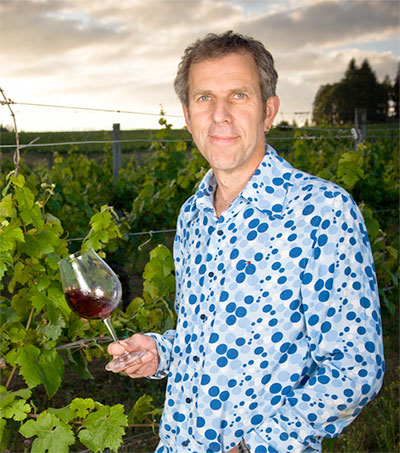 Winemaker Ray Walsh Appreciating Oregon Flavours