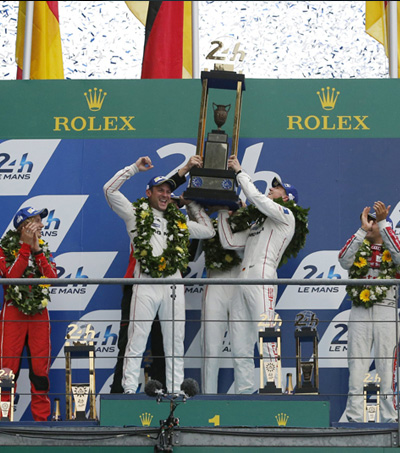 New Zealand Drivers Come First and Second for Porsche in Le Mans 24 Hours Race
