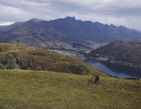 The Hobbit Heli Mountain Biking
