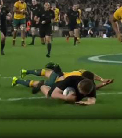 All Blacks Play Classic Game in Bledisloe Decider