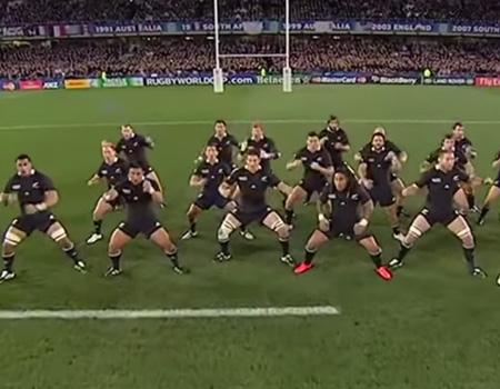 The Evolution of the New Zealand All Blacks Haka