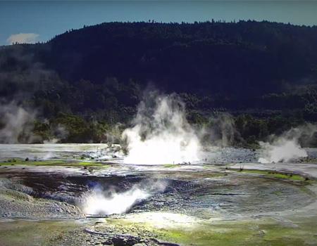 Orakei Korako Geothermal Park