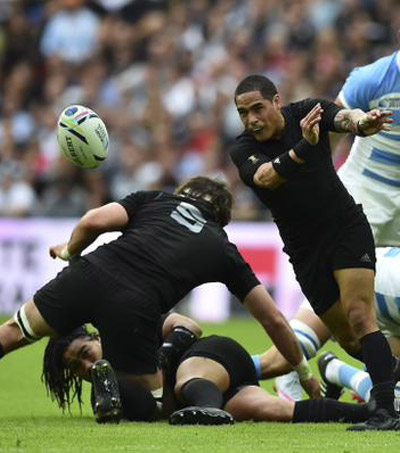 New Zealand All Blacks Beat Argentina to Begin Title Defence