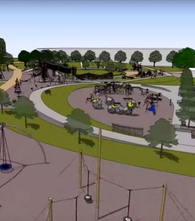 Kids Design Playground in New Zealand