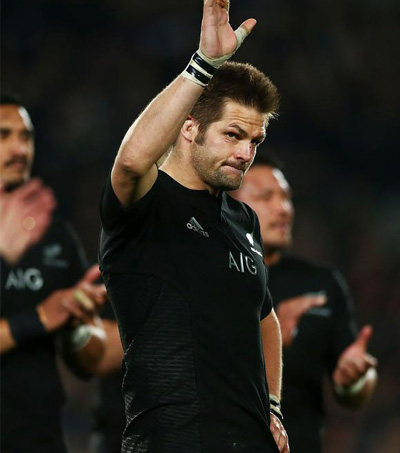 Richie McCaw Most Powerful in Rugby Union