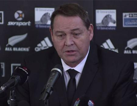 2015 All Blacks Squad Announcement – Steve Hansen