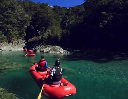 Dart River Wilderness Jet and Funyak Tour in Queenstown