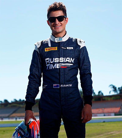 Racing Star Mitch Evans Proponent of F1 Noise