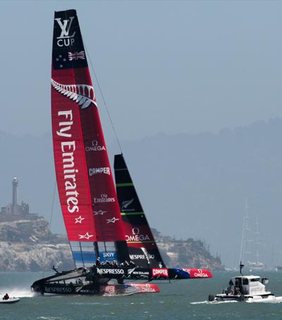 Team New Zealand Recruits Italian Skipper Max Sirena