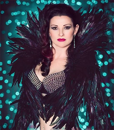 Burlesque Dancer Bonita Muntz off to Vegas
