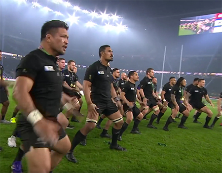 The All Blacks Perform World Cup Winning Haka