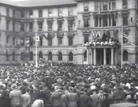 NZ Celebrates VE Day (1945)