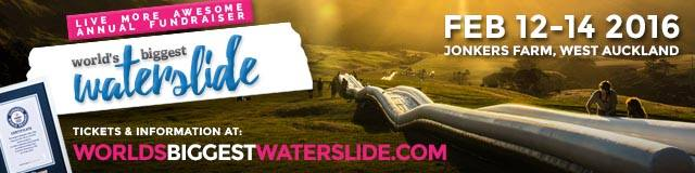 Worlds Biggest Waterslide