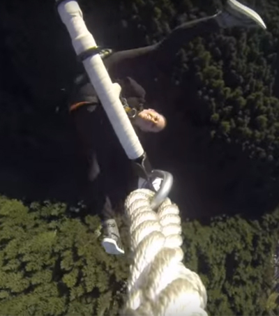 New Zealand Sky-High Trapeze Act in World Record Bid