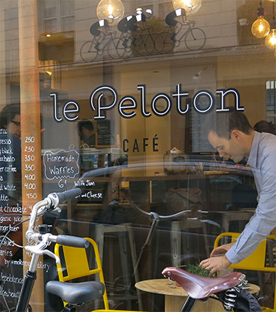 Paul Barron Has Hand in Parisian Coffee Revolution