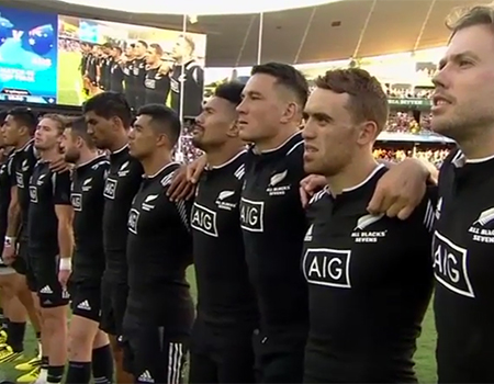 National Anthems: 2016 Sydney 7's – Australia vs New Zealand