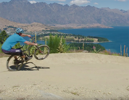 One Man. One Wheel. One Epic Trip Across NZ.