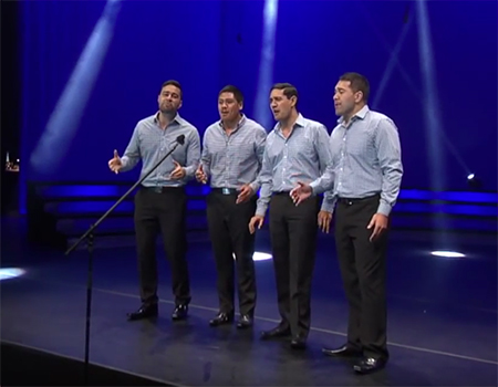 NZ National Anthem By Musical Island Boys