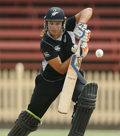 Suzie Bates World's Leading Female Cricketer